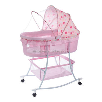 2 in 1 rocking baby cradle baby crib MC808