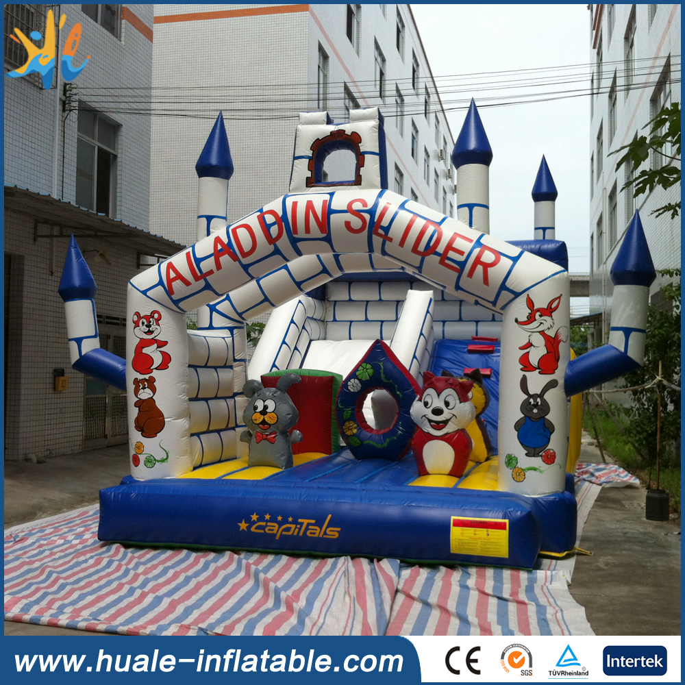 Inflatable bouncer house, used commercial inflatable bouncers for sale