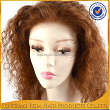 100% Brazilian human hair hand made full lace natural scalp wig with thick density