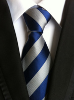 Stripe Polyester Neckties,Woven ties,Business Neckties