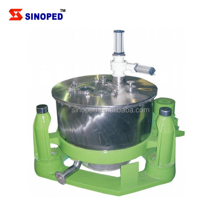 Marine oil and fuel oil centrifuge separator