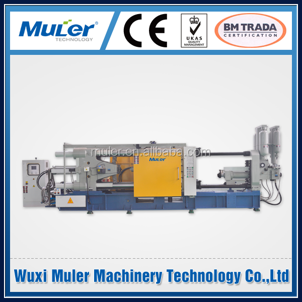magnesium cold chamber die casting machine with Omron PLC