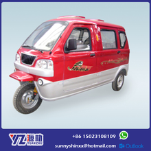 175CC Enclosed Three Wheel Passenger Tricycle 7 Seats