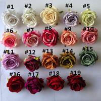 diameter 10cm silk high quality wedding wall rose flower