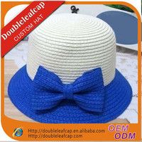 Fashion Summer Girls Child Lace Straw Beach Hat Wide Brim Sun Visor Straw Hat