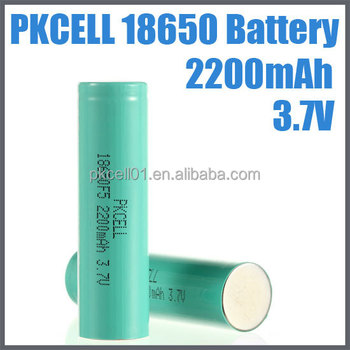 popular rechargeable battery li-ion 18650 battery