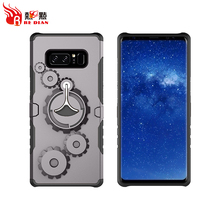 handphone casing for samsung note 8 tpu with pc case,high quality tpu pc mobile phone case luxury design for samsung note 8
