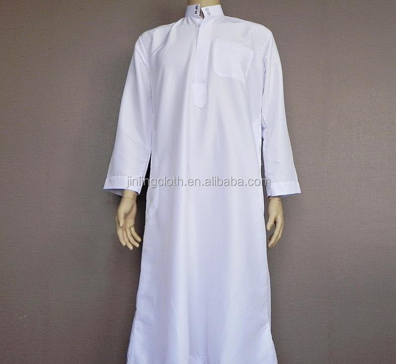 60%Combed Cotton /40%Polyester White Robe Fabric Air Jet High Quality Long Gown Fabric