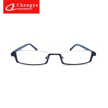 Wholesale high quality suitable all face round metal reading glasses