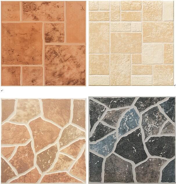 Anti slip tiles for bathroom floor
