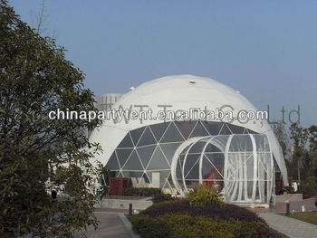 high strenghth and colorful dome tent for exihibition party events