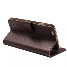 Hot selling genuine leather for iphone 6 plus case