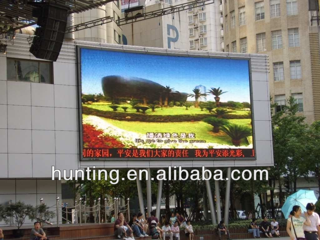 new tecnology xxxxx big outdoor advertising screen used p20 led diaplay full color made in china xxxxx