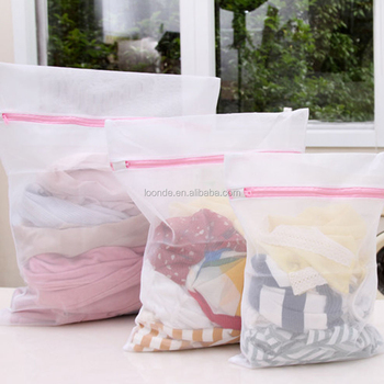 High quality Large natural polyester laundry bag Cloth storage
