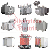 High Voltage 132kV Oil Immersed Voltage Power Transformer High Capacity