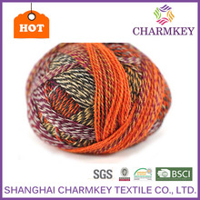 2015 Hot sale Top quality cotton pp yarn manufacturer in india cotton blend yarns lion brand cashmere blend yarn for scarf
