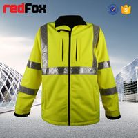 reflective safety lady winter outdoor sport slim fit jacket