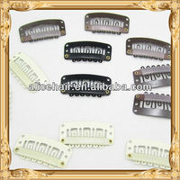 Accept PayPal wholesale hair extension tool wig clips in bulk