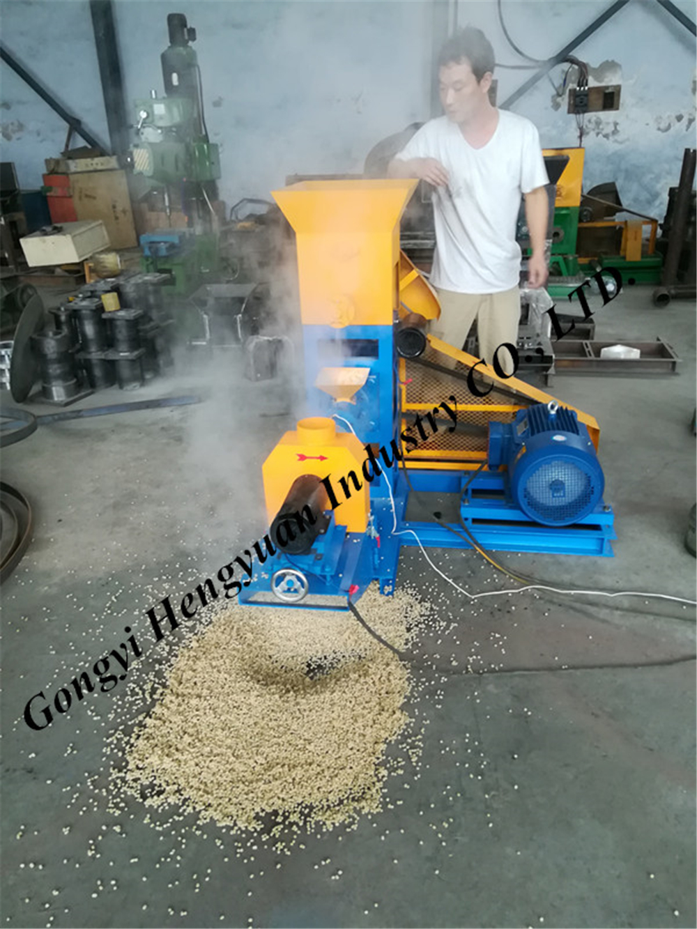 High yield animal feed bulking machine 0086 18703886379
