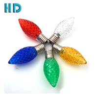 High quality commercial grade waterproof c9 e17 led christmas light wholesale