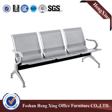 Stainless steel 3-seater pubilc airport chair, hospital waiting chair (HX-PC307)