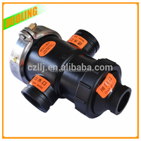"Nylon material DN150 6"" water valve lock for flow control with plastic injection molding"