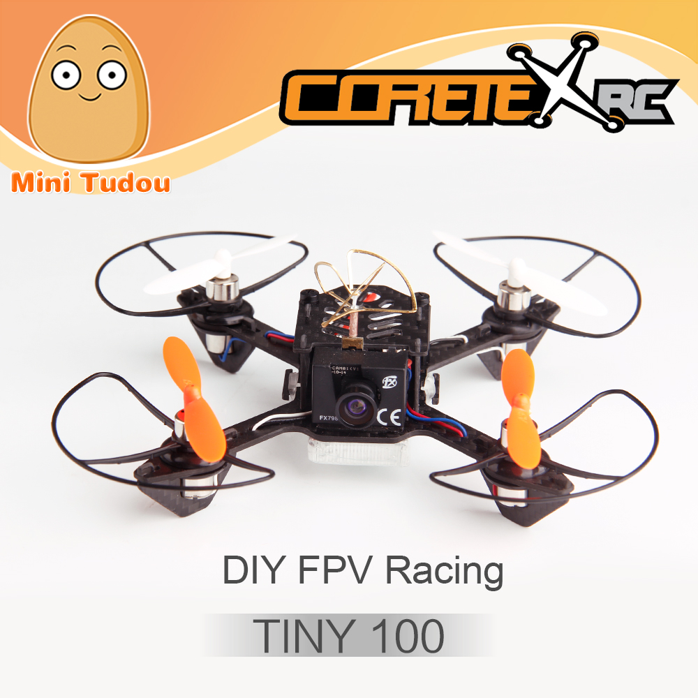 Minitudou FPV Racing Wholesale Coretex RC Tiny 100 Micro Quadcopter With 600TVL Camera Based On F3 Flight Controller