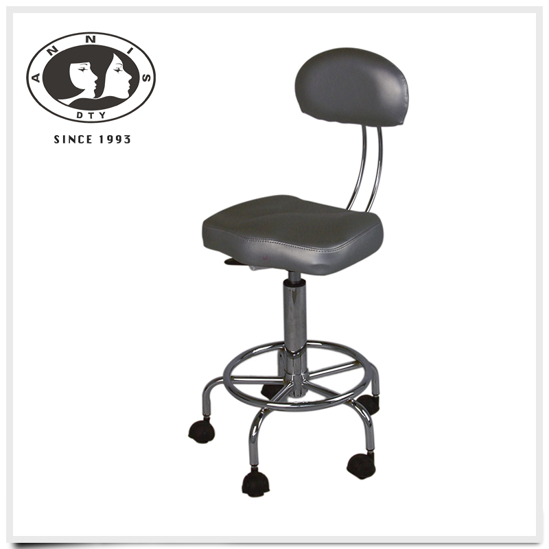 Wholesale China gold supplier salon equipments durable adjustable height swivel bar stool