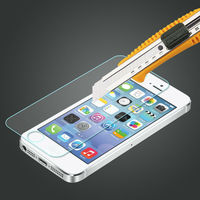 mobile phone outer accessories for iphone 5 tempered glass