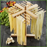 Italia Pasta Drying Rack In Bamboo/Food Drying Rack/Homex_BSCI
