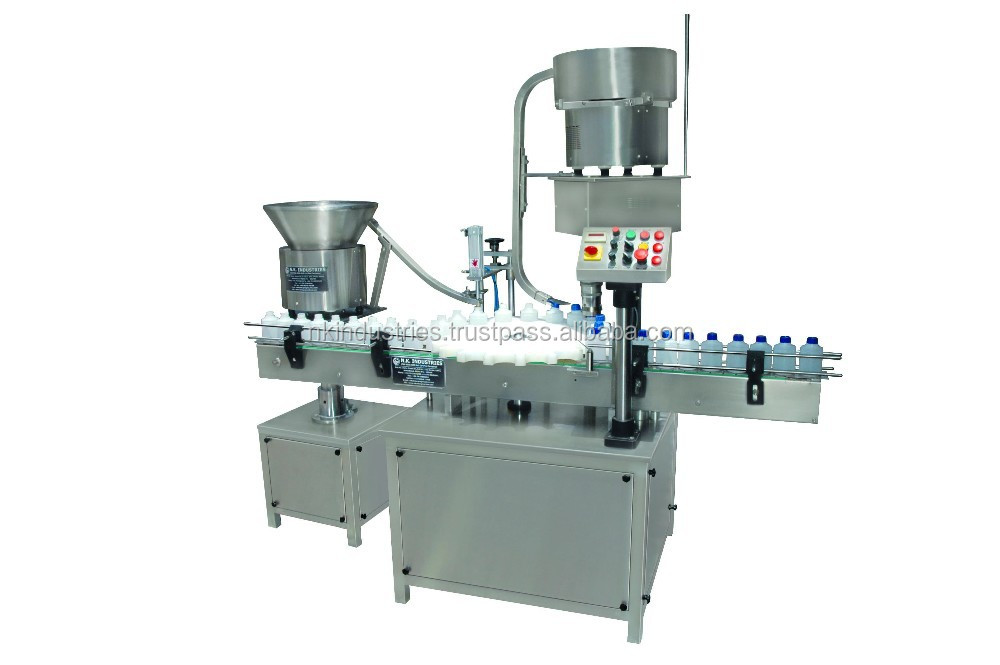 Plastic bottle Inner Plugging Screw capping Machine