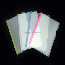 clear plastic file folders