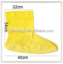 Offre Spéciale Jaune Latex couvre-chaussures Bottes En Latex