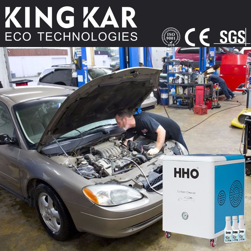 Full automatic HHO machine eco engine carbon cleaning