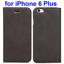 Trade assurance HOCO brand Flip leather case for iPhone 6 plus