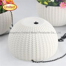 Brand new half round flower pot made in China