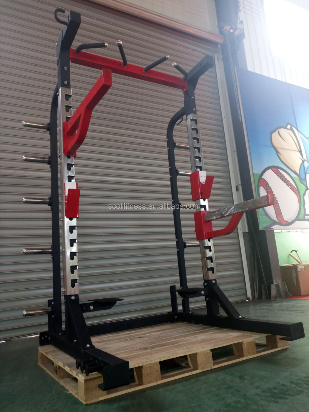 2016 Hot Sale Hammer Strength Half Rack Power Rack H72