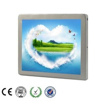 "12.1"" Silver Back Mounted Bus TV Monitor"