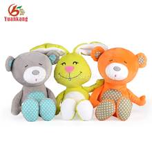 Custom best made cuddly plush sleeping teddy bear toy