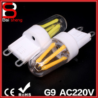 4Pcs G9 E14 E12 LED Bulb Dimmable COB 2W Lamp Bulb 110V 220V COB SMD LED Lighting 360 Degree Beam Angle