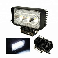 9W square spot low voltage output flood light,12V DC flood light led work light lamp