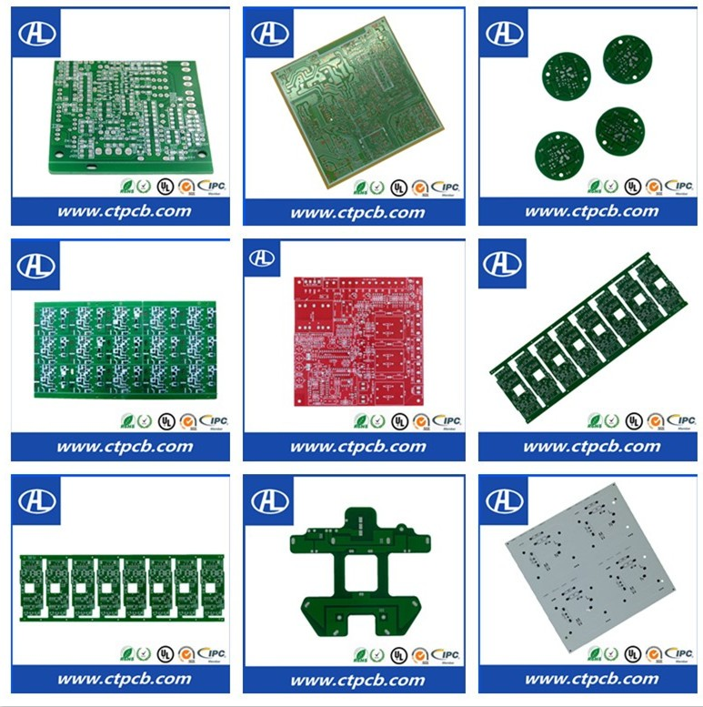 Round led light drive power pcb