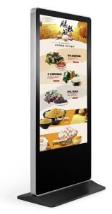 "43"",49"",55"",65"" floor standing advertising lcd screen digital signage touch screen digital signage"