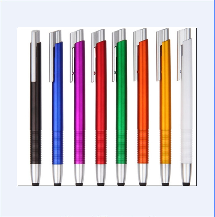 Korea Stationery Wholesale Office Supplies Cartoon New Multicolor Plastic Ball pen
