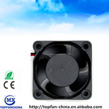 high temperature fan 40 * 40 *20mm, small dc axial case fan with ball bearing