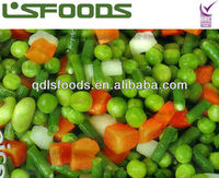 2013 new corp frozen IQF mixed vegetable(green peas,baby sweet corn,carrot,green bean)