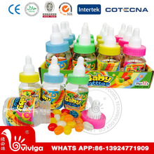 bottle shape fruit flavour jelly bean soft candy