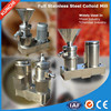 Full stainlless steel multifunctional chilli paste making machine / colloid mill / colloidal mill