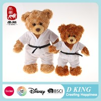 Good quality beautiful delicate coloured teddy bear toy doll