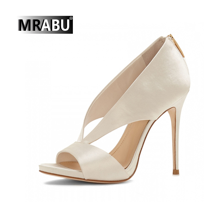 white black shoes women lady high heel bridal fancy sandal